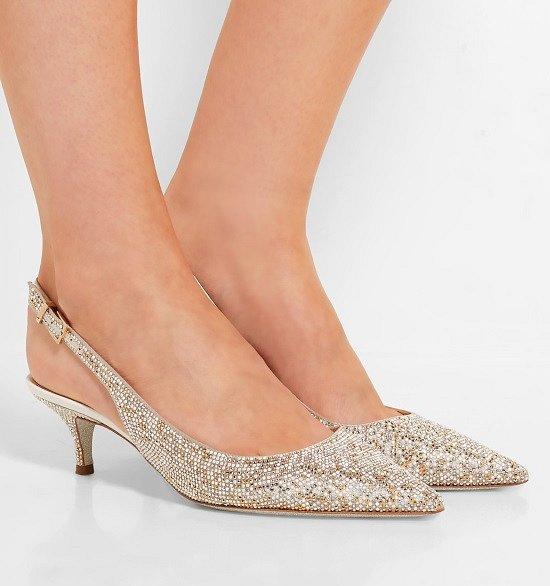 Туфли на низком каблуке - модный тренд сезона фото №17