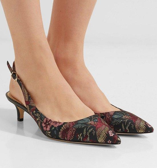 Туфли на низком каблуке - модный тренд сезона фото №9