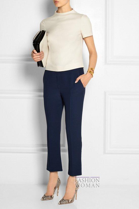 Укороченные брюки - модный тренд сезона фото №6