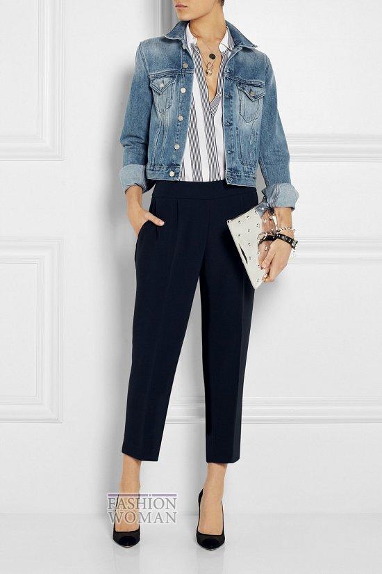 Укороченные брюки - модный тренд сезона фото №7