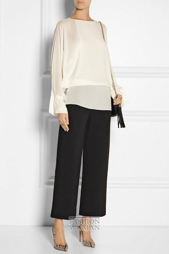 Укороченные брюки - модный тренд сезона фото №13
