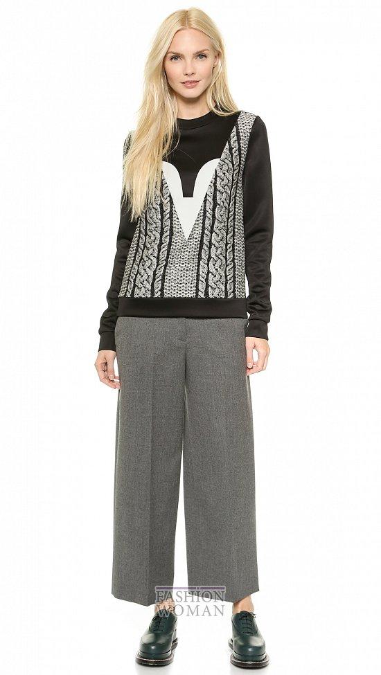 Укороченные брюки - модный тренд сезона фото №11