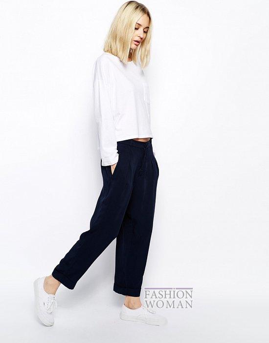 Укороченные брюки - модный тренд сезона фото №12
