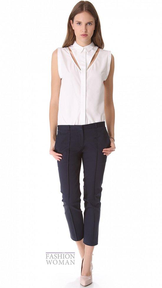 Укороченные брюки - модный тренд сезона фото №14