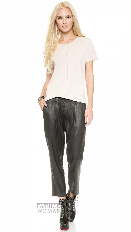Укороченные брюки - модный тренд сезона фото №24