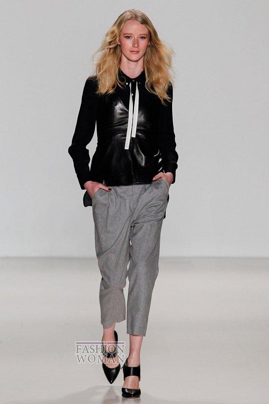 Укороченные брюки - модный тренд сезона фото №26