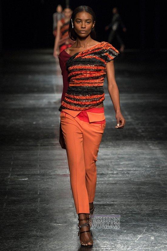 Укороченные брюки - модный тренд сезона фото №27