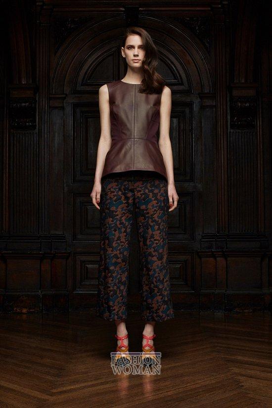 Укороченные брюки - модный тренд сезона фото №32