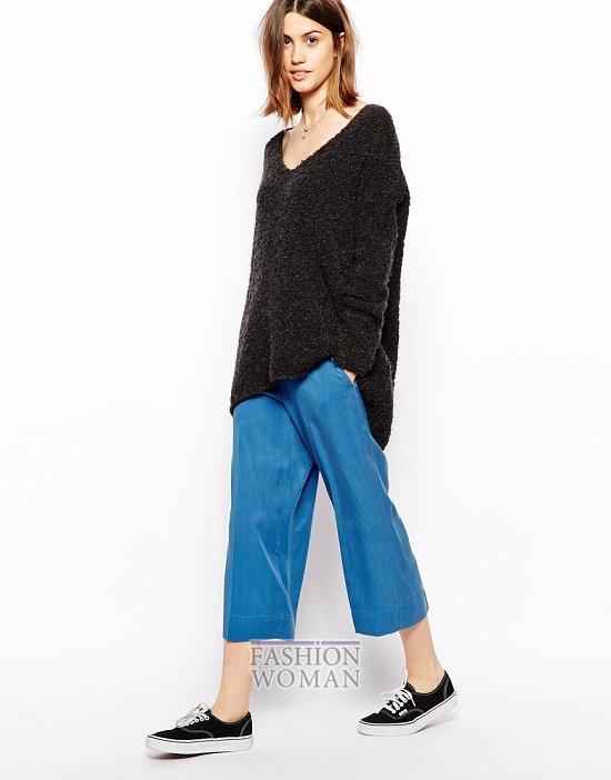 Укороченные брюки - модный тренд сезона фото №42