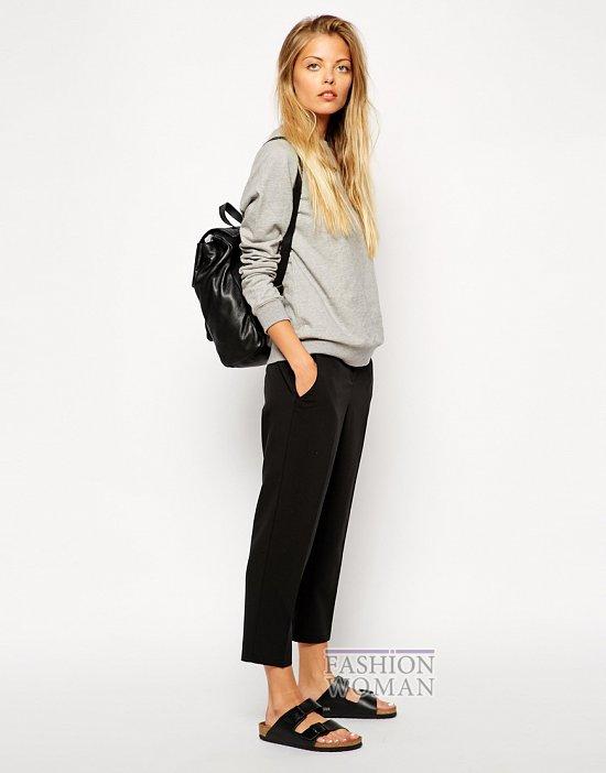 Укороченные брюки - модный тренд сезона фото №38