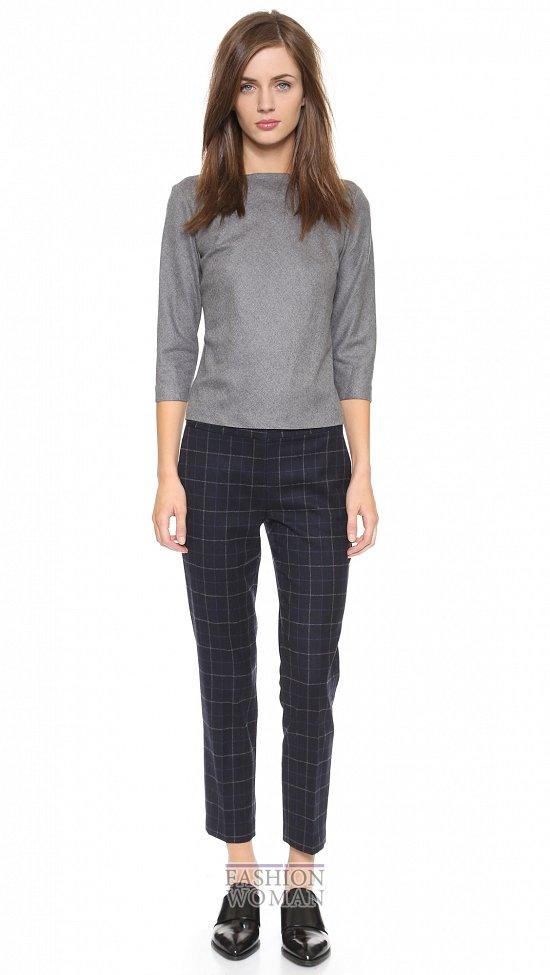 Укороченные брюки - модный тренд сезона фото №39