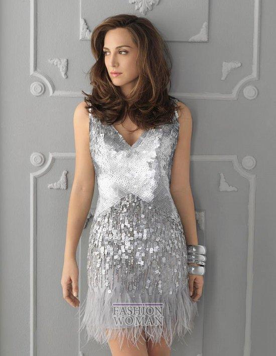 платья с пайетками