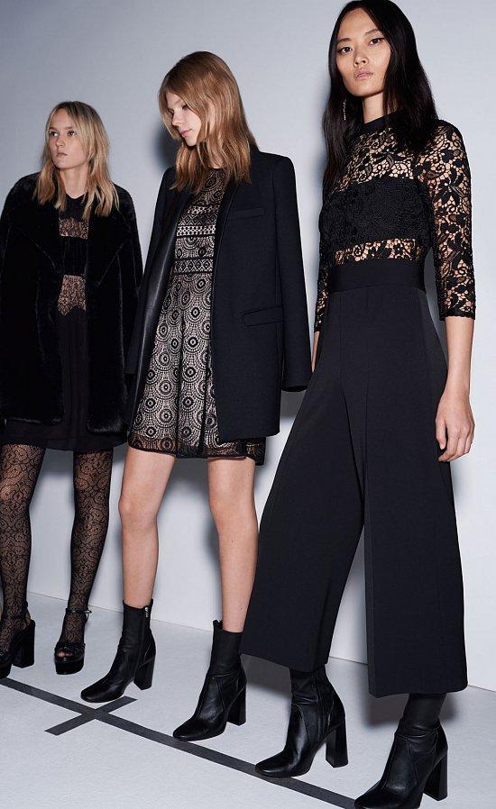 Вечерние наряды Zara Evening осень-зима 2015-2016 фото №2