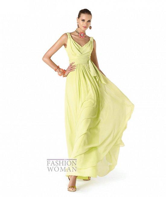 Вечерние платья 2014 от Pronovias фото №13