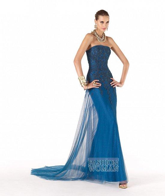 модное вечернее платье 2013
