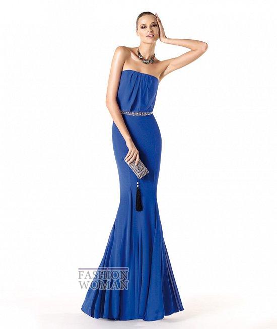 Вечерние платья 2014 от Pronovias фото №8