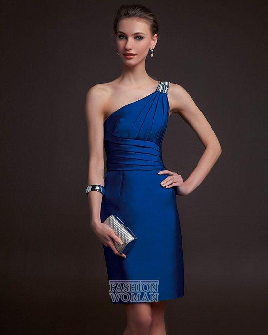 короткое вечернее платье
