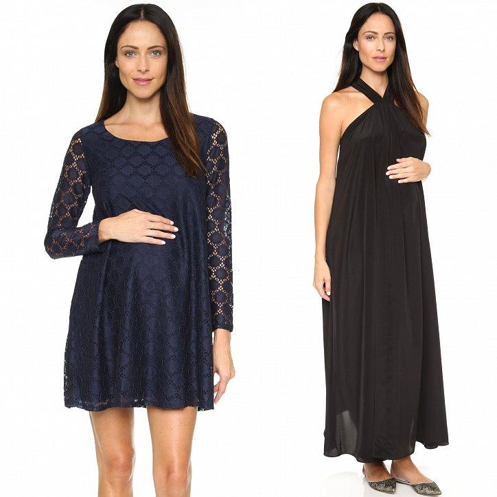 Вечерние платья для беременных. Как подобрать? фото №2
