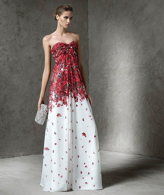 Вечерние платья Pronovias 2016 фото №12
