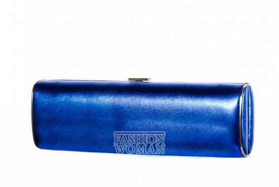 Синий вечерний клатч