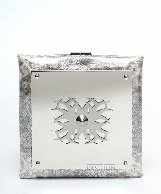 Серебрянная сумочка