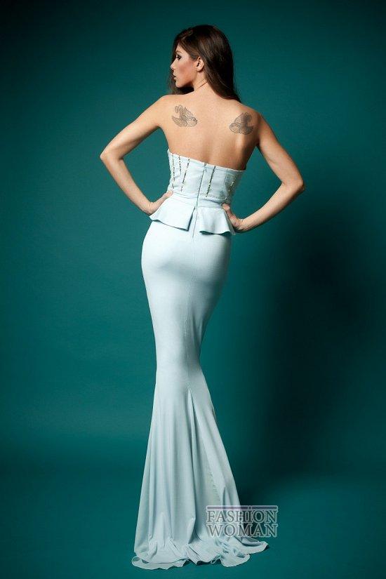 Вечерняя мода 2013 от Cristallini  фото №16