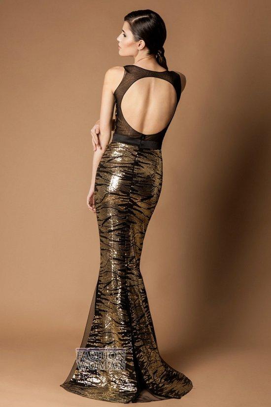 вечернее платье открытая спина