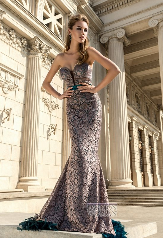 вечерние платья годе