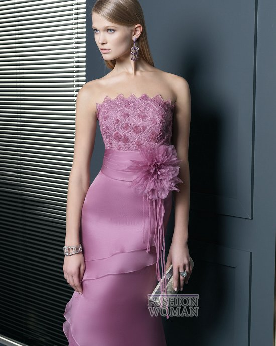 Вечерняя мода 2014 от Rosa Clara фото №12