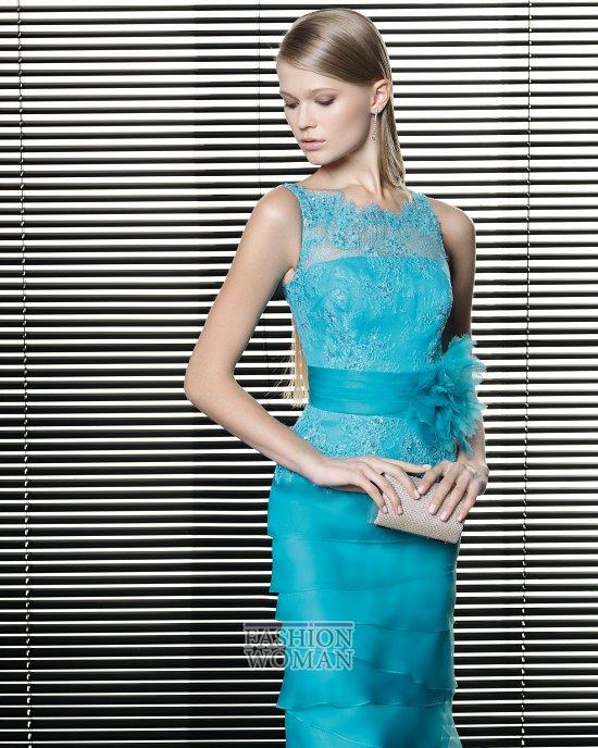 Вечерняя мода 2014 от Rosa Clara фото №13