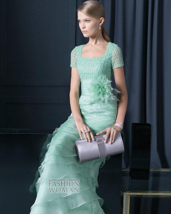 Вечерняя мода 2014 от Rosa Clara фото №22