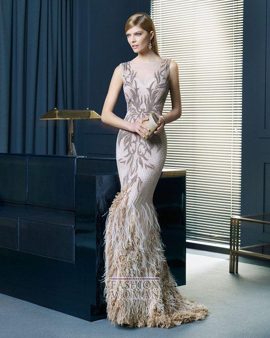 Вечерняя мода 2014 от Rosa Clara фото №24