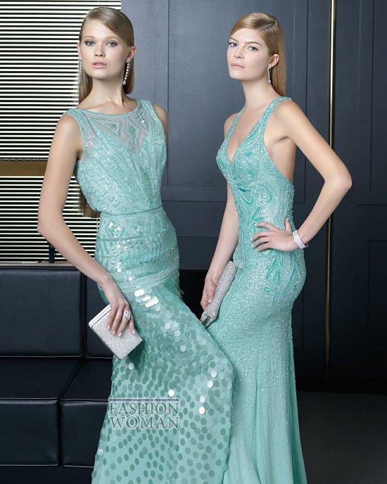 Вечерняя мода 2014 от Rosa Clara фото №29