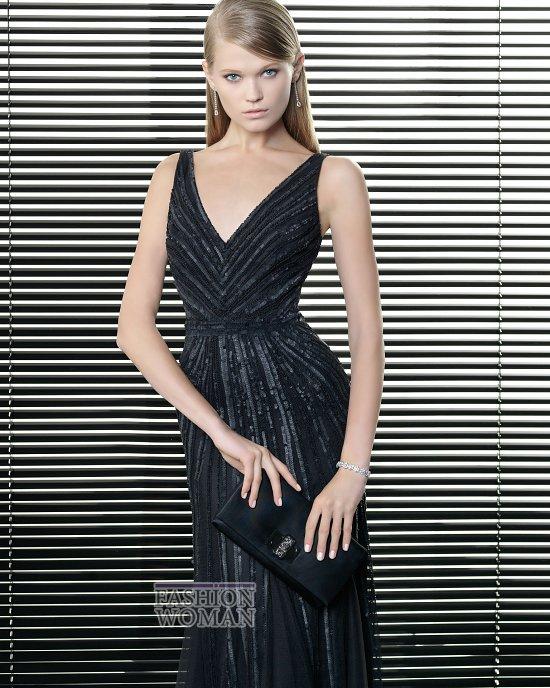 Вечерняя мода 2014 от Rosa Clara фото №40