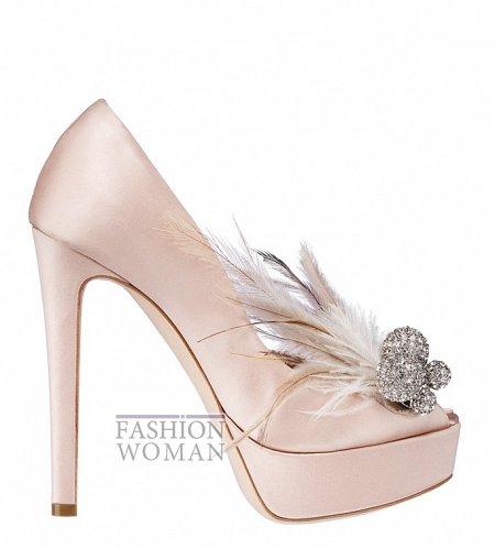 Атласные вечерние туфли