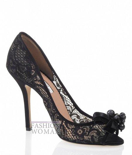 Вечерние туфли от Oscar de la Renta