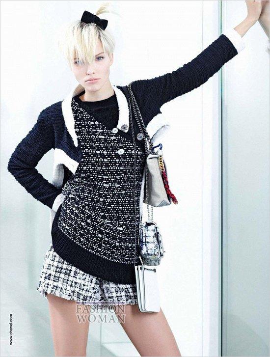 Весенне-летняя рекламная кампания Chanel