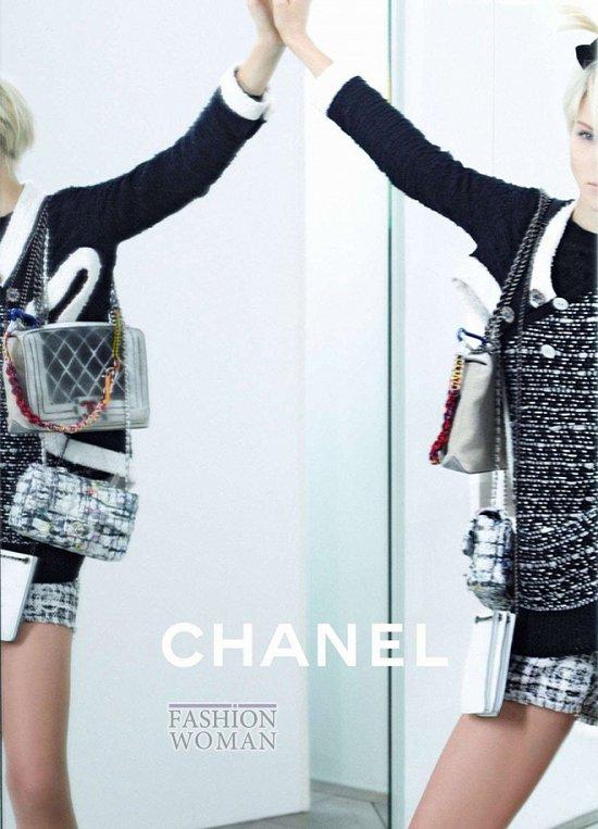 Весенне-летняя рекламная кампания Chanel  фото №2