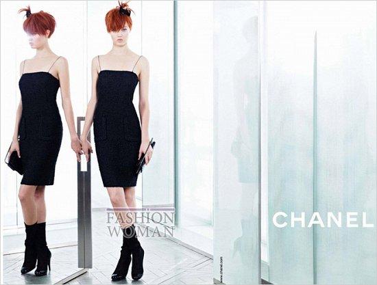 Весенне-летняя рекламная кампания Chanel  фото №3