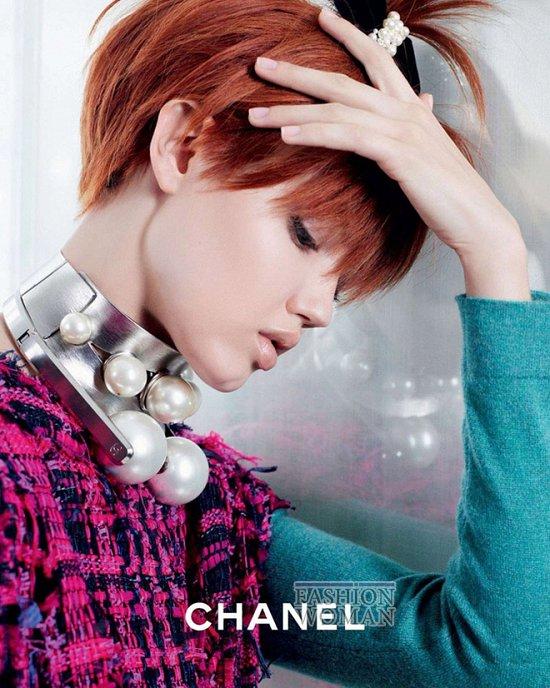 Весенне-летняя рекламная кампания Chanel  фото №5