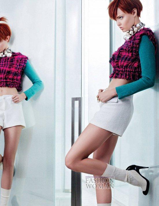 Весенне-летняя рекламная кампания Chanel  фото №7