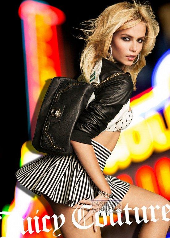 Весенне-летняя рекламная кампания Juicy Couture фото №3