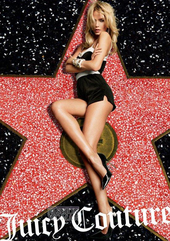Весенне-летняя рекламная кампания Juicy Couture фото №4