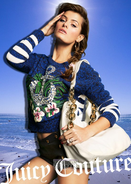 Весенне-летняя рекламная кампания Juicy Couture фото №8