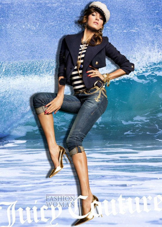 Весенне-летняя рекламная кампания Juicy Couture фото №9
