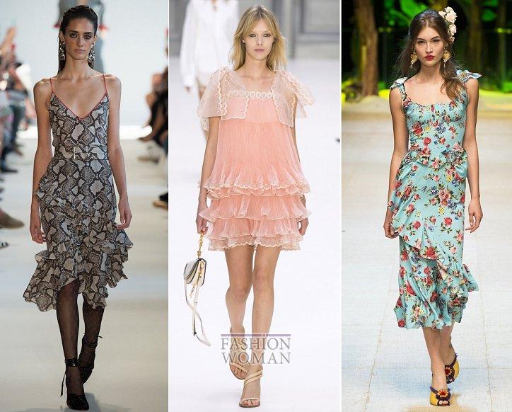 Весенние тенденции моды: воланы, рюши и оборки фото №1