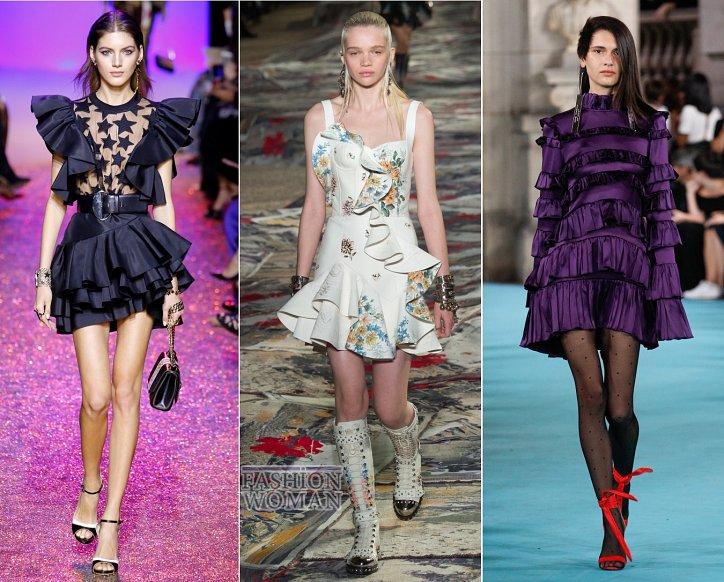 Весенние тенденции моды: воланы, рюши и оборки фото №4