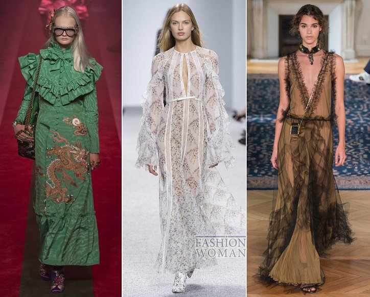 Весенние тенденции моды: воланы, рюши и оборки фото №3