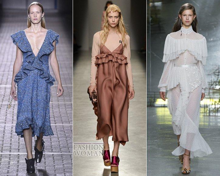 Весенние тенденции моды: воланы, рюши и оборки фото №5