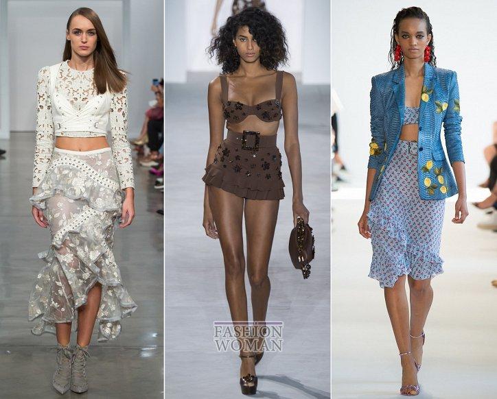 Весенние тенденции моды: воланы, рюши и оборки фото №10